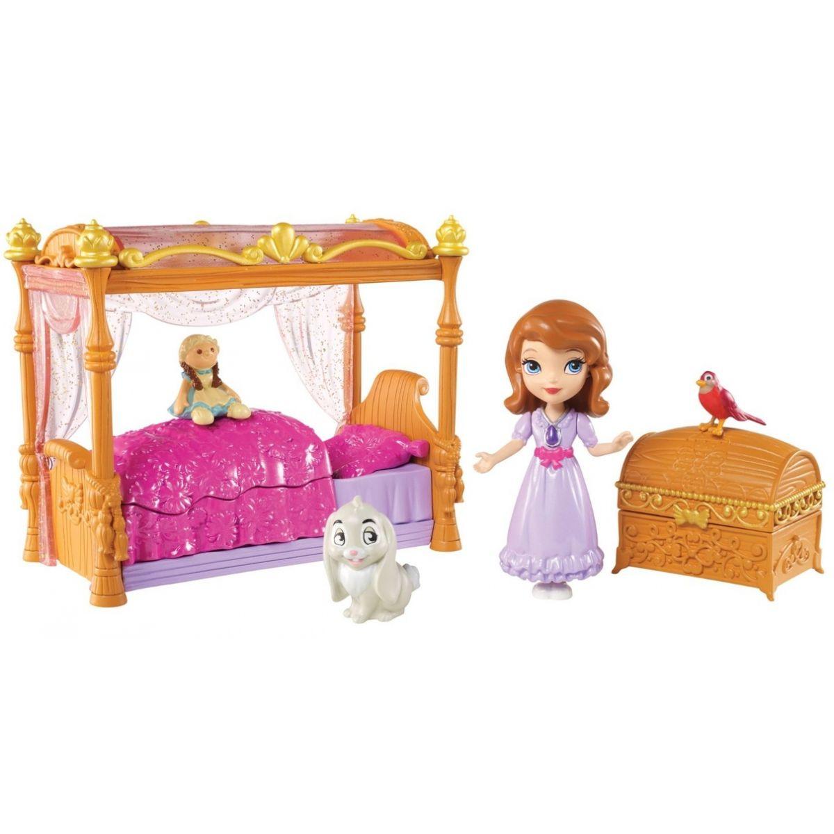 Mattel Disney Sofie královská ložnice