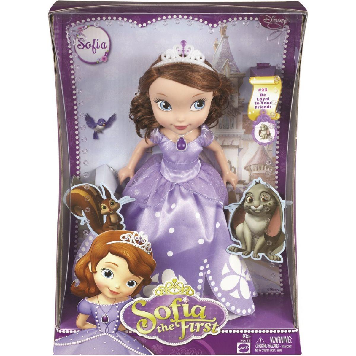 Mattel Disney Sofie večerní šaty