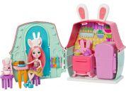 Mattel Enchantimals domácí mazlíčci Bree Bunny a Twist