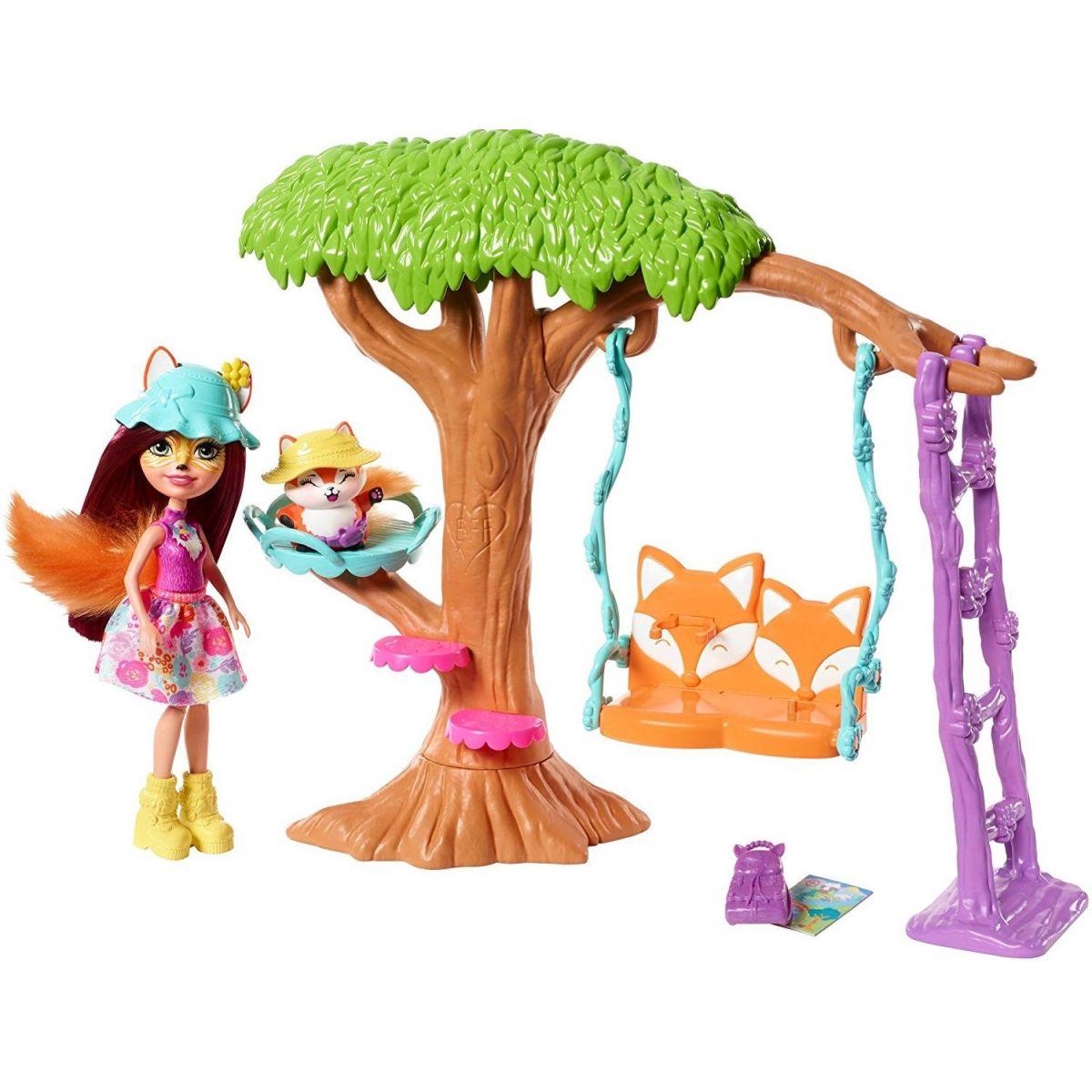 Mattel Enchantimals domácí pohoda FRH45
