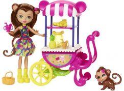 Mattel Enchantimals herní set na kolech Opička