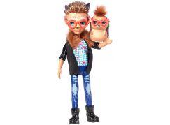 Mattel Enchantimals panenka a zvířátko Hixby Hedgehog a Pointer