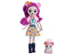 Mattel Enchantimals panenka a zvířátko Mayla Mouse a Fondue