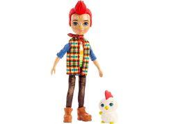 Mattel Enchantimals panenka a zvířátko Redward Rooster a Cluck