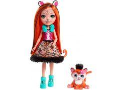 Mattel Enchantimals panenka a zvířátko Tanzie Tiger a Tuft