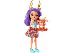 Mattel Enchantimals panenka se zvířátkem Danessa Deer a Sprint