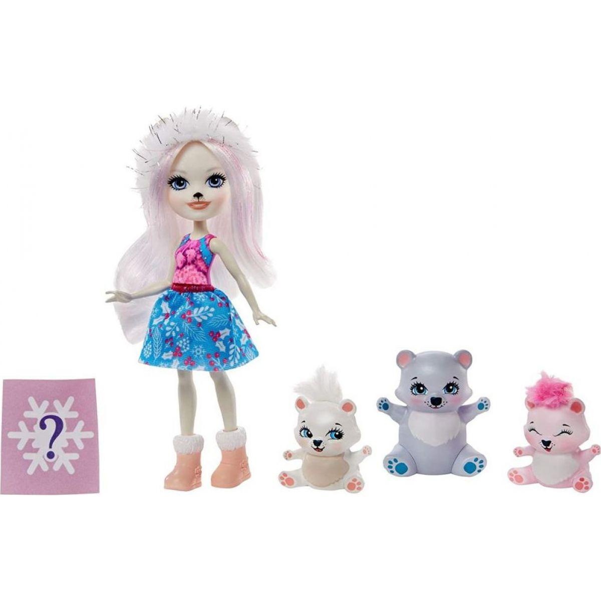 Mattel Enchantimals rodinka medvídci