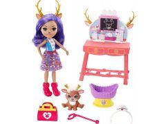 Mattel Enchantimals tématické balení Caring Vet