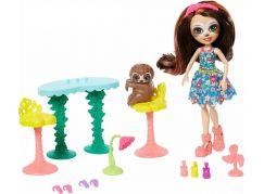 Mattel Enchantimals tématické balení Slow-Down Salon