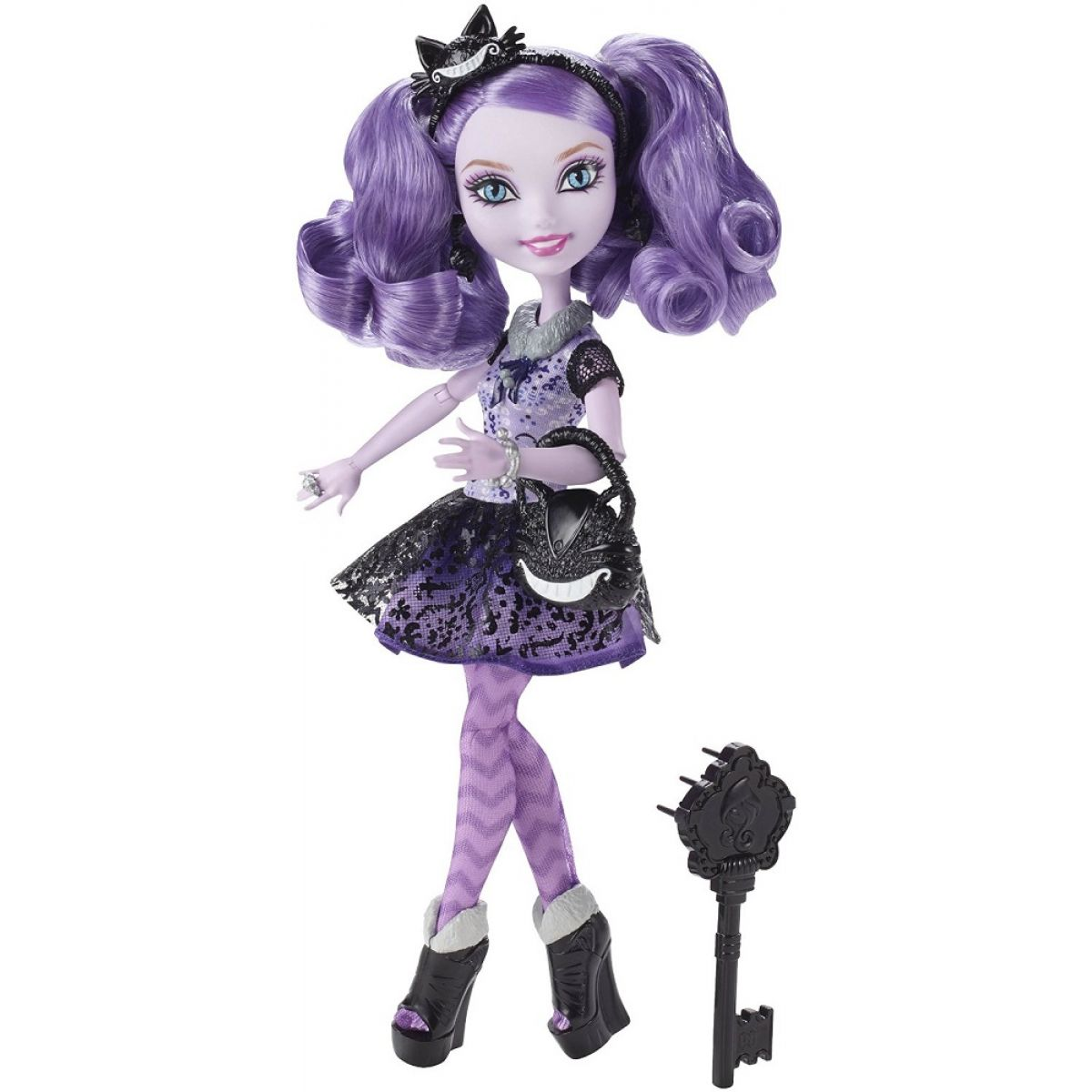 Mattel Ever After High Rebelové I. - Kitty Cheshire