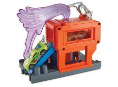 Mattel Hot Wheels City Postav město Benzínová stanice