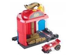 Mattel Hot Wheels City Postav město Hasičská stanice