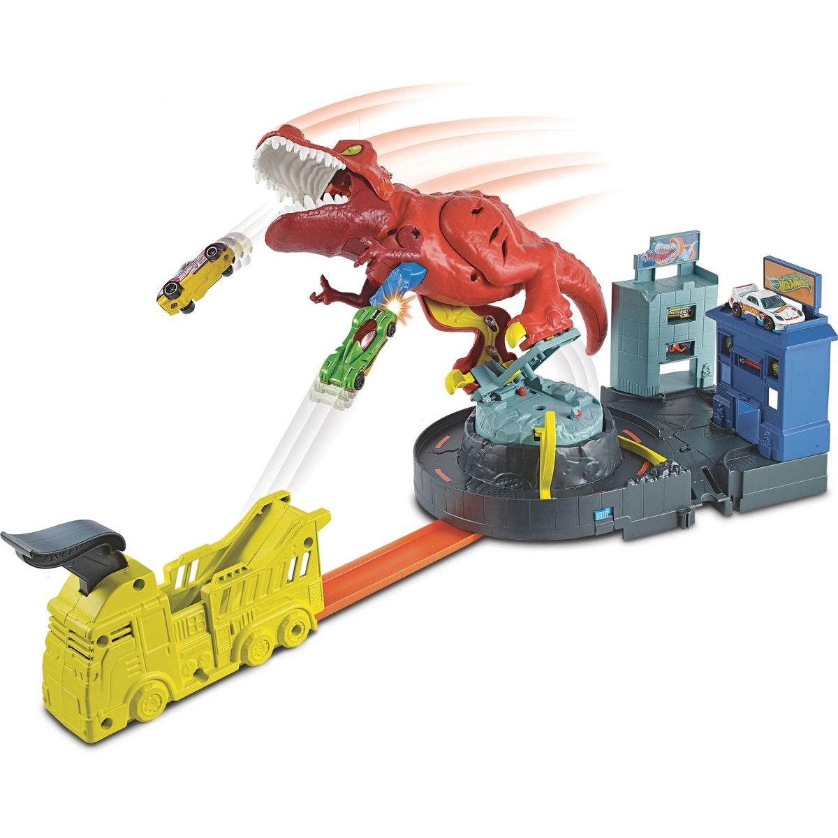 Mattel Hot Wheels city T-Rex řádí