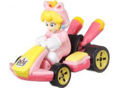 Mattel Hot Wheels Mario Kart angličák Cat Peach
