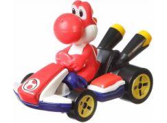 Mattel Hot Wheels Mario Kart angličák Red Yoshi