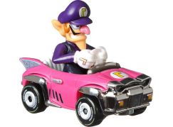 Mattel Hot Wheels Mario Kart angličák Waluigi