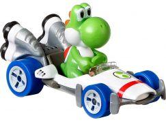 Mattel Hot Wheels Mario Kart angličák Yoshi