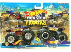 Mattel Hot Wheels Monster trucks demoliční duo HotWheels 4 a HotWheels 1