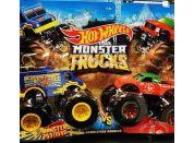 Mattel Hot Wheels Monster trucks demoliční duo Monster Portions VS Tuong Ot Sriracha