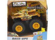 Mattel Hot Wheels monster trucks velká srážka Invader hnědý