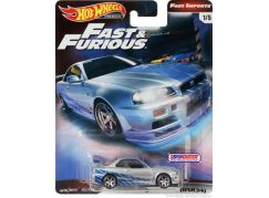 Mattel Hot Wheels prémiové auto – Rychle a zběsile Nissan Skyline GT-R (BNR34)