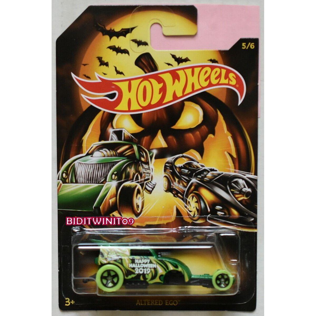 Mattel Hot Wheels tematické auto – halloween Altered Ego