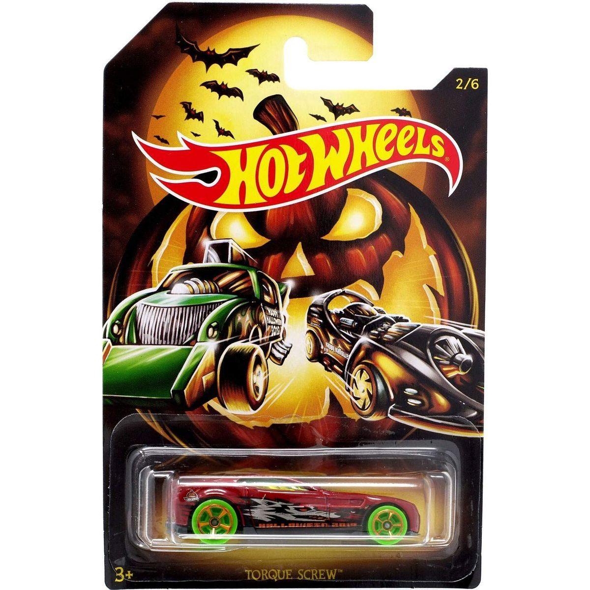 Mattel Hot Wheels tematické auto – halloween Torque Screw