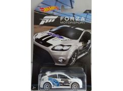 Mattel Hot Wheels tématické auto Forza racing 09 Ford Focus RS