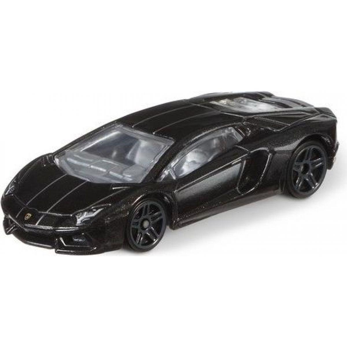 Mattel Hot Wheels tématické auto Lamborghini Aventador