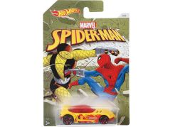 Mattel Hot Wheels tématické auto Marvel Spiderman Golden Arrow