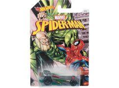 Mattel Hot Wheels tématické auto Marvel Spiderman Power Bomb
