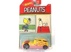 Mattel Hot Wheels tématické auto Peanuts Qombee