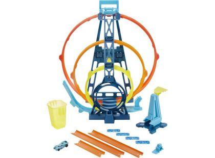 Mattel Hot Wheels track builder trojitá smyčka