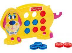Mattel Hra pro předškoláky piškvorky s pejskem Tonym