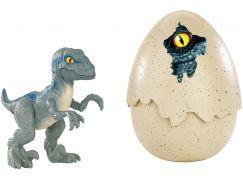 Mattel Jurský svět dinosauříci Velociraptor Blue FMB92