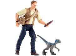 Mattel Jurský svět Základní figurka Baby Blue