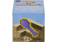 Mattel Minecraft mini těžba vrták fialový