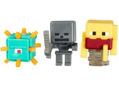 Mattel Minecraft minifigurka 3ks - Wither Skeleton, Blaze and Guardian