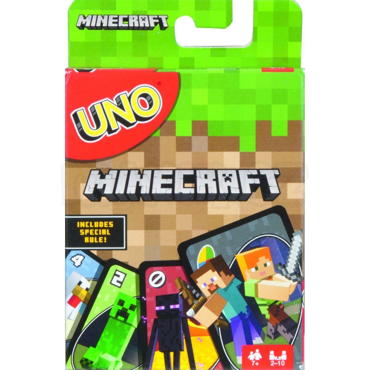 28ea4a02b Mattel Minecraft UNO   Maxíkovy hračky