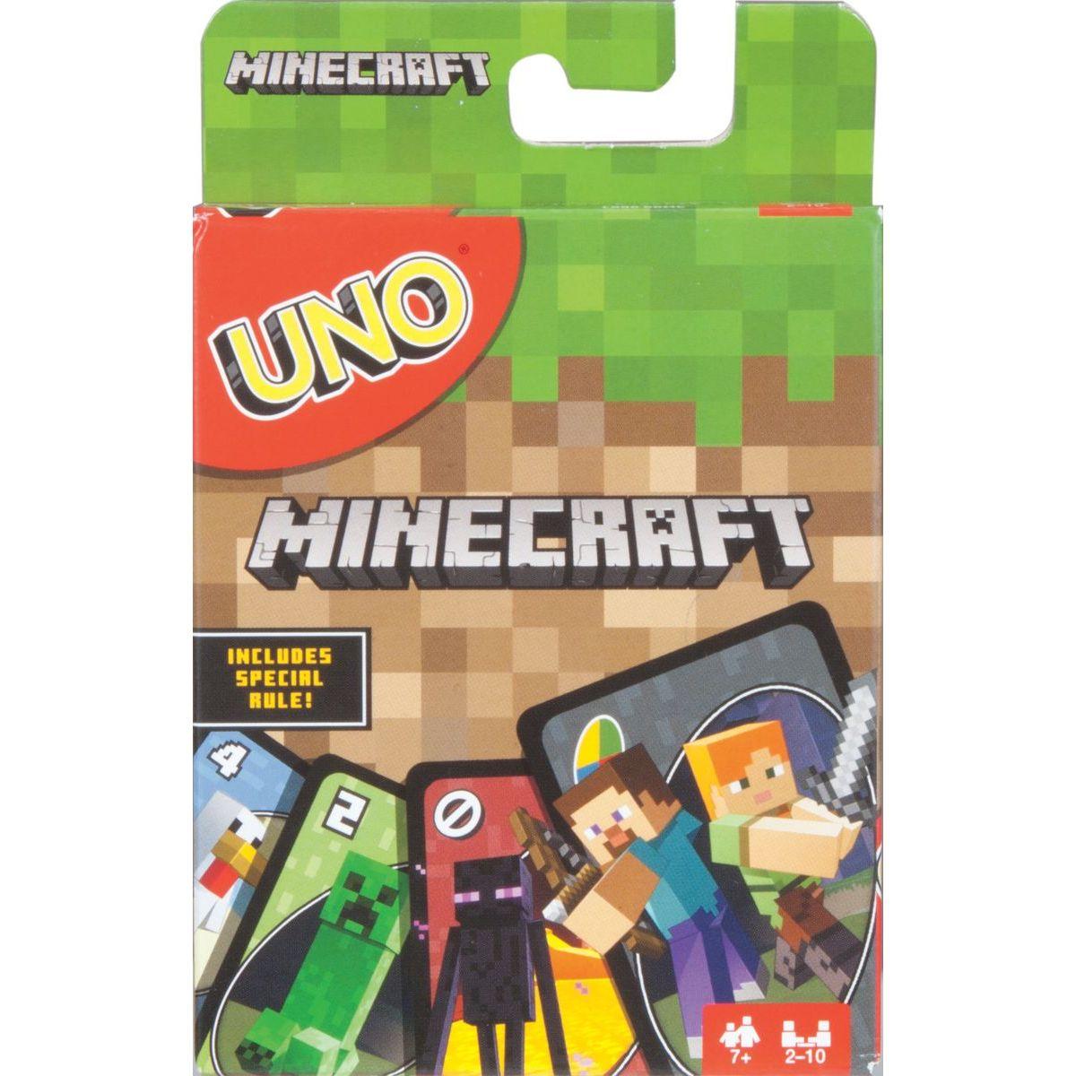 Mattel Minecraft UNO
