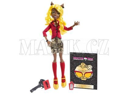 Mattel Monster High Howlywood delux příšerka - Clawdia Wolf