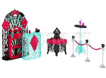 Mattel Monster High Howlywood nábytek - Premiérový večírek