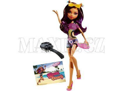 Mattel Monster High Plážové příšerky - Clawdeen Wolf