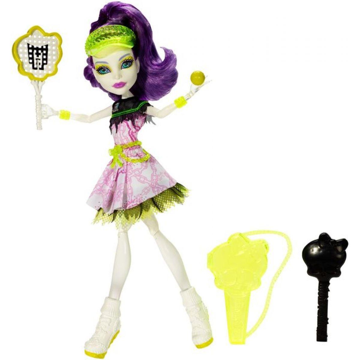 Mattel Monster High Sportovní příšerky - Spectra Vondergeist