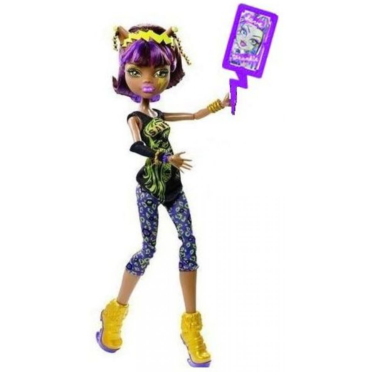 Mattel Monster High Záchranný tým - Clawdeen Wolf