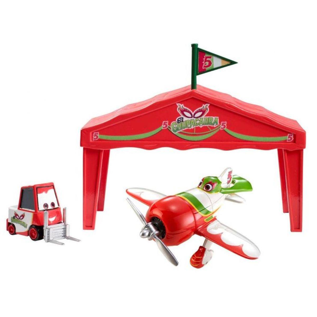 Mattel Planes Letadla Dárková sada - El Chupacabra