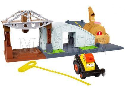 Mattel Planes set s natahovacím lankem