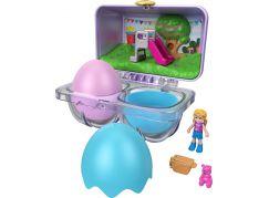 Mattel Polly Pocket malá jarní vajíčka růžová krabička