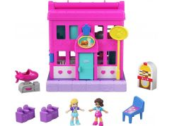 Mattel Polly pocket obchod v Pollyville růžový