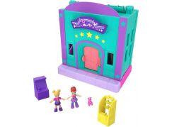 Mattel Polly pocket obchod v Pollyville zelený